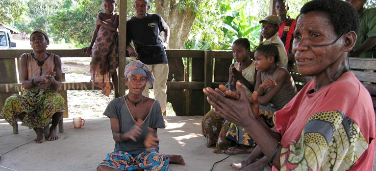 Comparative Study of the music of the Pygmy people of Northern Congo